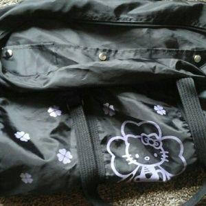 Hello Kitty Bags - Hello Kitty duffel shoulder travel gym dance bag 1d4c21721fe9c